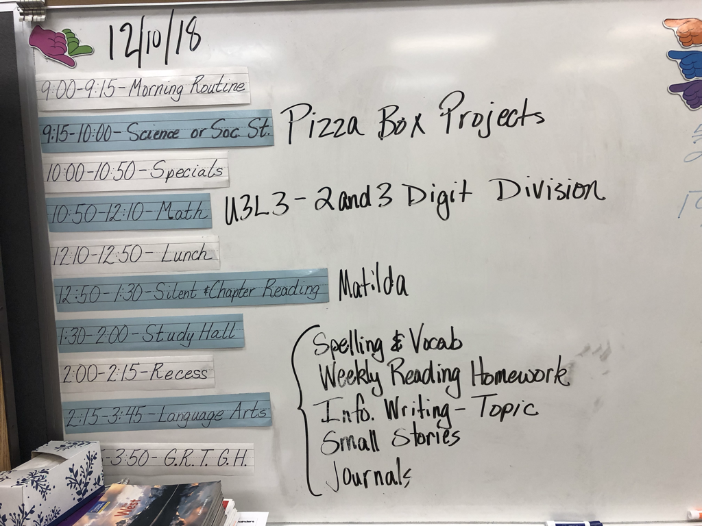 December 10th, 2018 - MR  FROMM'S FOURTH GRADE